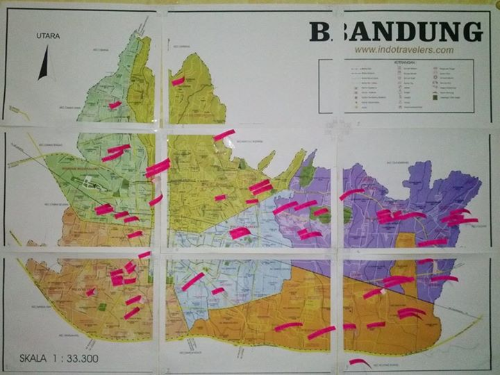 peta logistik kampanye